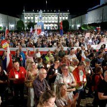 Planai drausminti Lenkijos teisėjus išprovokavo perspėjimus ir protestus