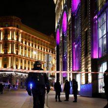 Žiniasklaida: Maskvos centre šaudė 39 metų rusas