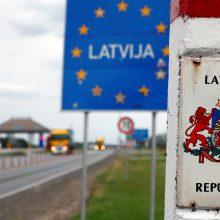 Latvija nuo pirmadienio griežčiau kontroliuos atvykstančiuosius
