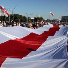 Apklausa: didesnė dalis lietuvių remia valdžios reakciją į įvykius Baltarusijoje