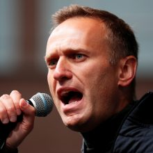 A. Navalno sąjungininkai ragina dalyvauti masiniuose protestuose visoje Rusijoje