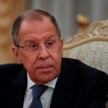 Atsakydama į JAV sankcijas Rusija išsiųs 10 amerikiečių diplomatų