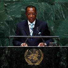 Mirė kovose su sukilėliais sužeistas Čado prezidentas