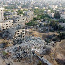 Kariuomenė: iš Gazos Ruožo Izraelio link paleista apie 1 500 raketų