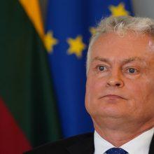 Prezidentas: Lietuva didins finansavimą gynybai iki 2,5 proc. 2030 metais