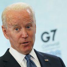 J. Bidenas išreiškė JAV paramą G7