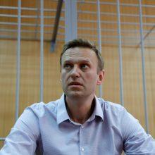 EP Sacharovo premija paskirta A. Navalnui