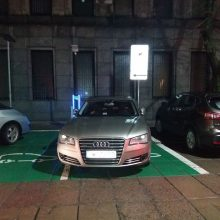 """Papiktino ne vietoje stovintis automobilis: """"burtininkams"""" ženklai negalioja"""