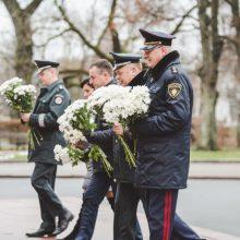 Pirmasis policijos generalinio komisaro užsienio vizitas – į Latviją
