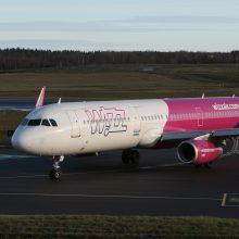"""Wizz Air"" stabdo skrydžius Lietuvoje"