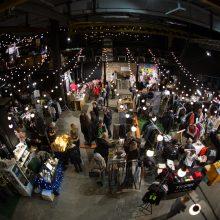 """""""Loftas"""" tapo Kalėdų fabriku: prasidėjo paskutinės minutės mugė"""