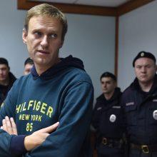 Maskvos teismas patvirtino naują A. Navalno areštą