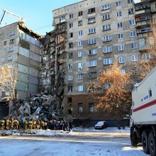 Rusijoje daugiabutyje sprogus dujoms žuvo mažiausiai keturi žmonės