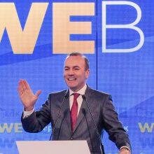 Lietuvoje lankosi dešiniųjų kandidatas į EK vadovus