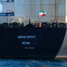 Vašingtonas įspėjo apie atsakomybę už Irano naftos gabenimą