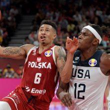 JAV krepšininkai pasaulio čempionate užėmė septintąją vietą