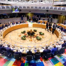 """ES lyderiai vienbalsiai pritarė """"Brexit"""" susitarimui"""