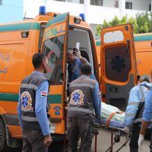 Egipte per autobuso ir sunkvežimio avariją žuvo 20, sužeisti dar trys žmonės
