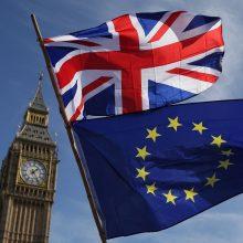 Vyriausybė patvirtino ES sutartį su Jungtine Karalyste