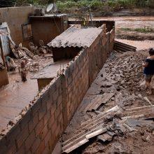 Brazilijoje dėl smarkių liūčių namus paliko 30 tūkst. žmonių
