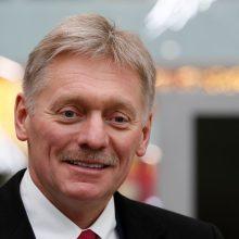D. Peskovas: Rusijoje nėra koronaviruso epidemijos