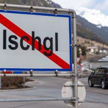 Idiliškas kalnų kurortas Tirolyje virto spąstais