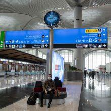 Turkija rengiasi atnaujinti oro susisiekimą su Lietuva