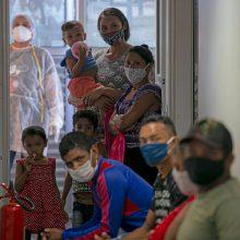 Lotynų Amerikoje koronaviruso atvejų skaičius viršijo 5 mln.