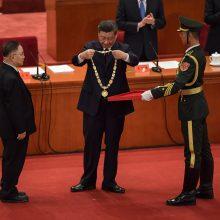 Xi Jinpingas: Kinija išlaikė istorinį išbandymą