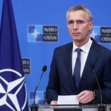 NATO ruošiasi pirmajam viršūnių susitikimui dalyvaujant J. Bidenui