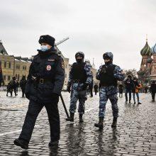 A. Navalno komanda paragino rusus susirinkti į naujus protestus