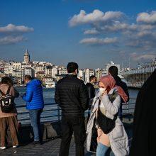 Turkija planuoja turizmo sezoną pradėti balandį