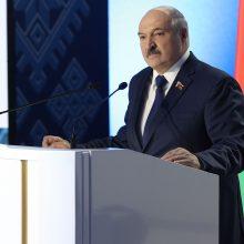 """A. Lukašenka: užsienio """"žaibo karas"""" prieš Baltarusiją žlugo"""