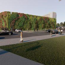 Stovėjimo aikštelių Santariškėse plėtra – finaliniame etape