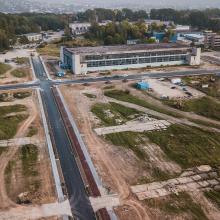 Buvusioje Aleksoto aviacijos gamyklos teritorijoje – unikalus projektas