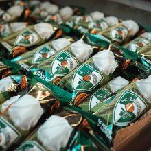 """Desertas """"Žalgirio"""" sirgaliams – prekyboje pasirodė žaliai-balti ledai"""