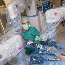 Robotinė chirurgija – proveržis Baltijos šalių medicinai