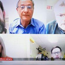 Užsienio žiniasklaida – apie vilniečių solidarumą ir kūrybiškumą