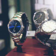 Vilniuje iš prekybos centro pavogta laikrodžių už 5 tūkst. eurų