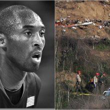 JAV pareigūnai aiškinasi K. Bryanto sraigtasparnio katastrofos aplinkybes