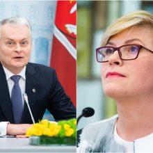 I. Šimonytė apie G. Nausėdos siūlymą didinti pensijas: tai politinis sprendimas