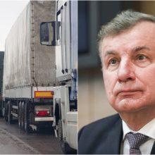 R. Sinkevičius apie Mobilumo paketą: verslas privalės prisitaikyti arba bankrutuos