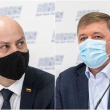 R. Karbauskis dar tikisi sprendimo dėl valstybinių vaistinių, A. Veryga prarado viltį