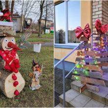 Šančių lopšelyje-darželyje – Kalėdų miestelis