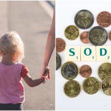 """Iš alimentų nemokančių tėvų """"Sodra"""" susigrąžino 5 mln. eurų"""