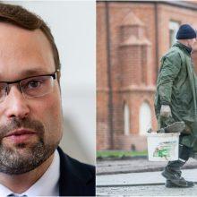 Kultūros ministras apie situaciją Zapyškyje: tai labai agresyvus sprendimas