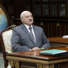 Šaltiniai: ES sankcijų Baltarusijai sąraše A. Lukašenkos nėra