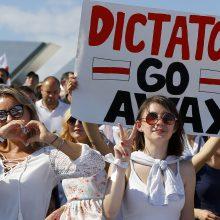 Dėl padėties Baltarusijoje šaukiama Europos Vadovų Taryba