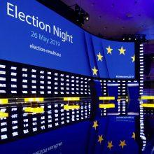 EP rinkimai: aktyvumas viršijo 50 proc. ir yra didžiausias per du dešimtmečius