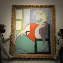 P. Picasso paveikslas aukcione Niujorke parduotas už 103,4 mln. dolerių
